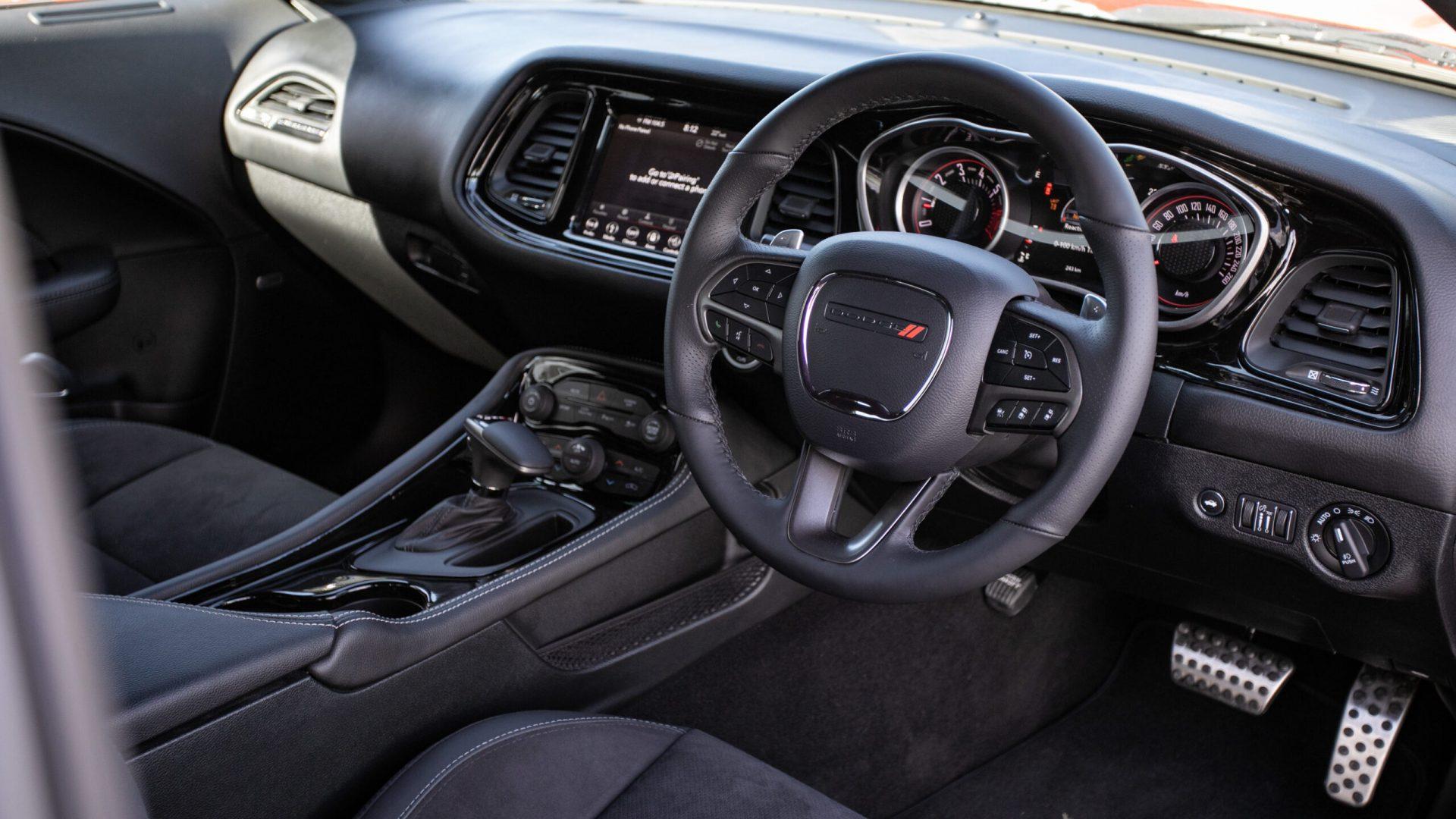 Dodge Challenger Interior 2